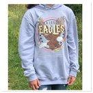 Hoody Eagle licht grijs