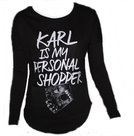 American Joggs sweatshirt karl shopper zwart