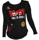 Azuka sweatshirt badges baby zwart