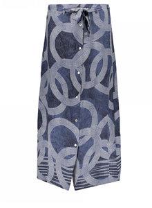 Geisha rok blauw