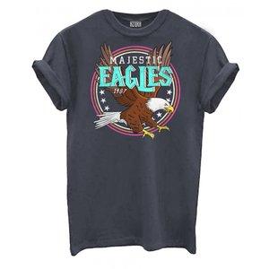 Tshirt Majestic Eagles grijs