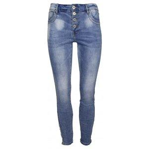 Norfy jeans casual met bies