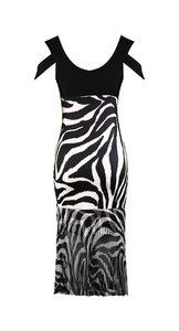 Missy jurk zebra