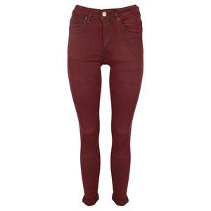 Norfy jeans basic bordeaux