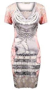 Missy jurk flower lace