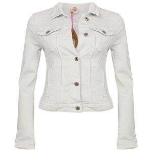 Place du jour jeans jasje wit