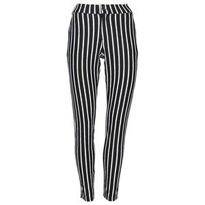 Angelle Milan broek zwart wit streep